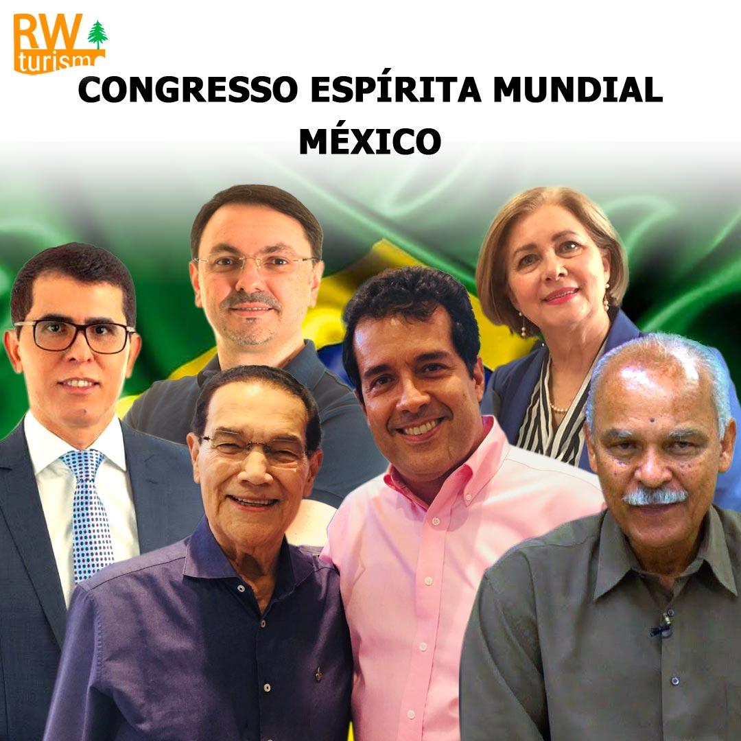 Palestrantes Brasileiros que estarão no Congresso Espírita Mundial - México - 2019