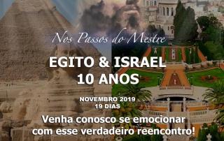 Viagem a Egito e Israel Novembro/2019